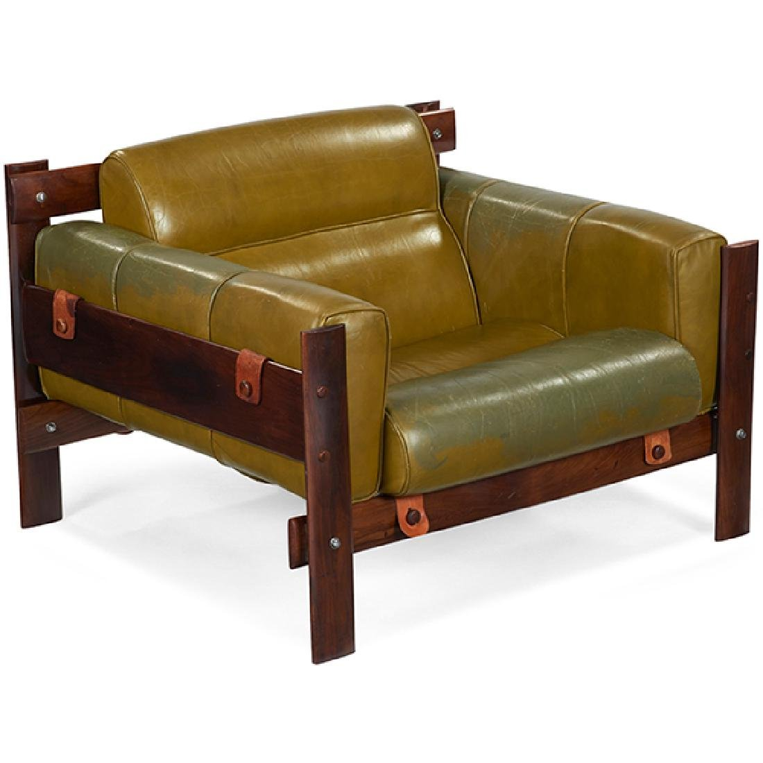 Sergio Rodrigues, attribution Franco lounge chair