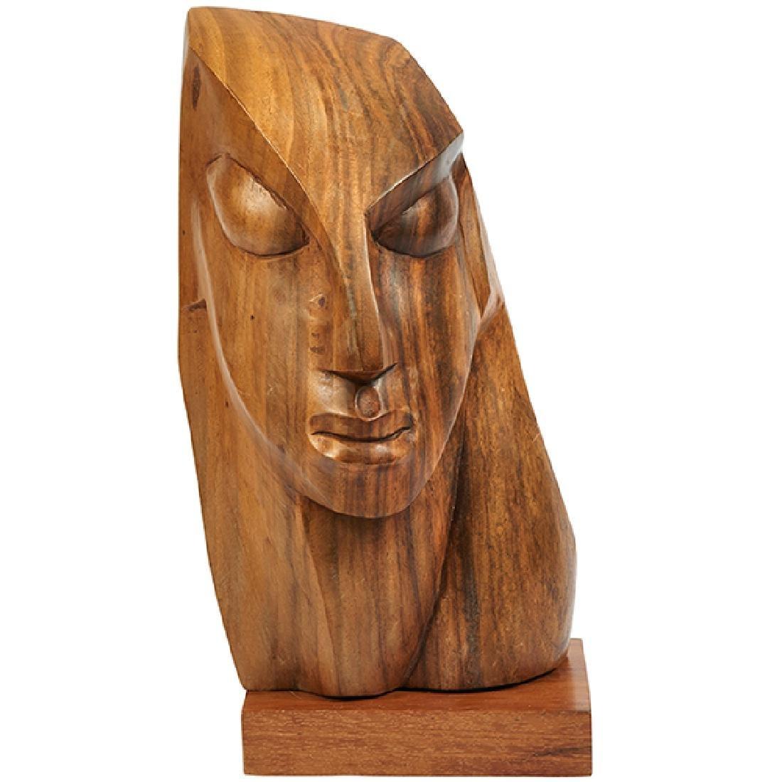 """Ulises Jimenez sculpture 8.75""""w x 7.5""""d x 17.25""""h"""