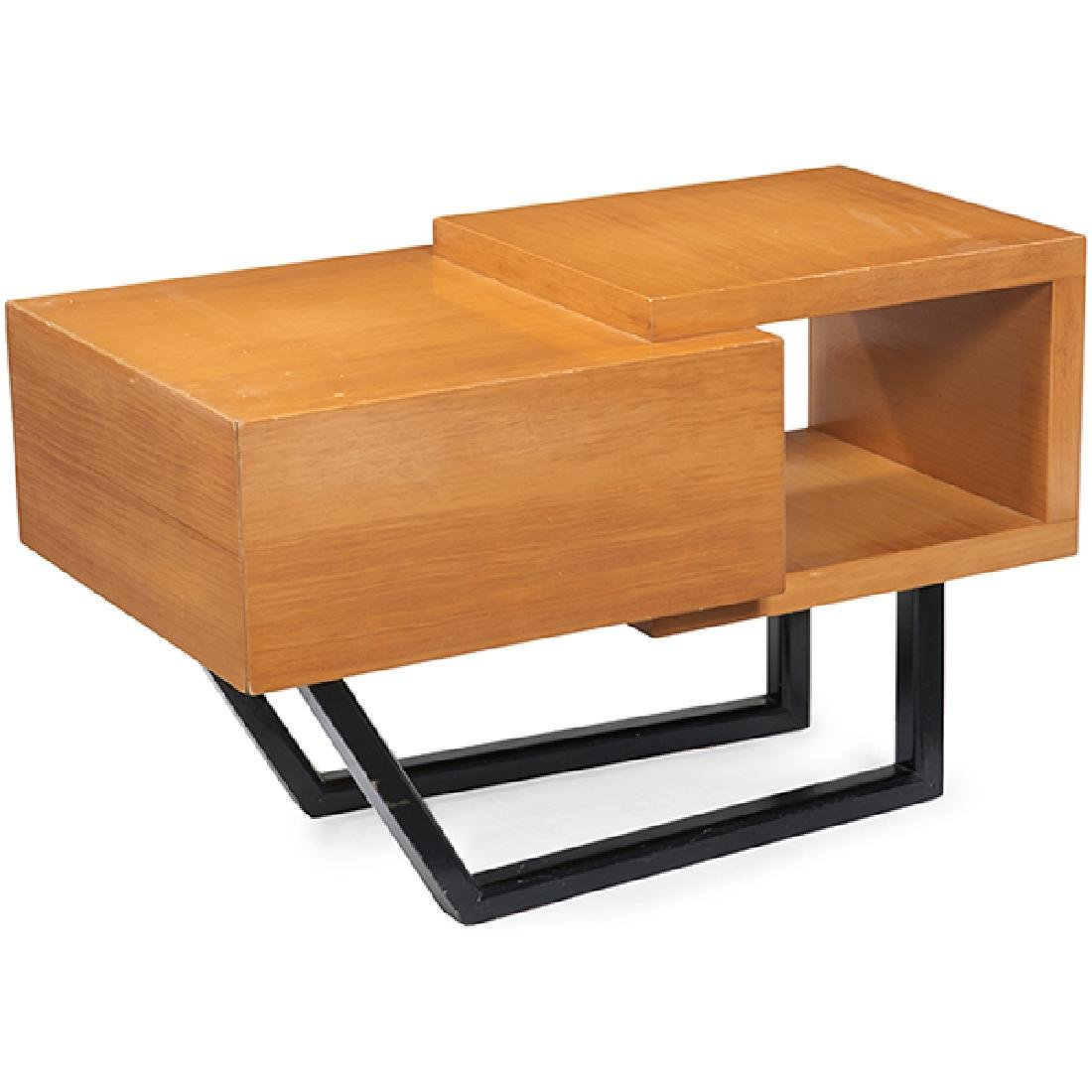 "Mid-century Modern end table 20""w x 34""d x 21.75""h"