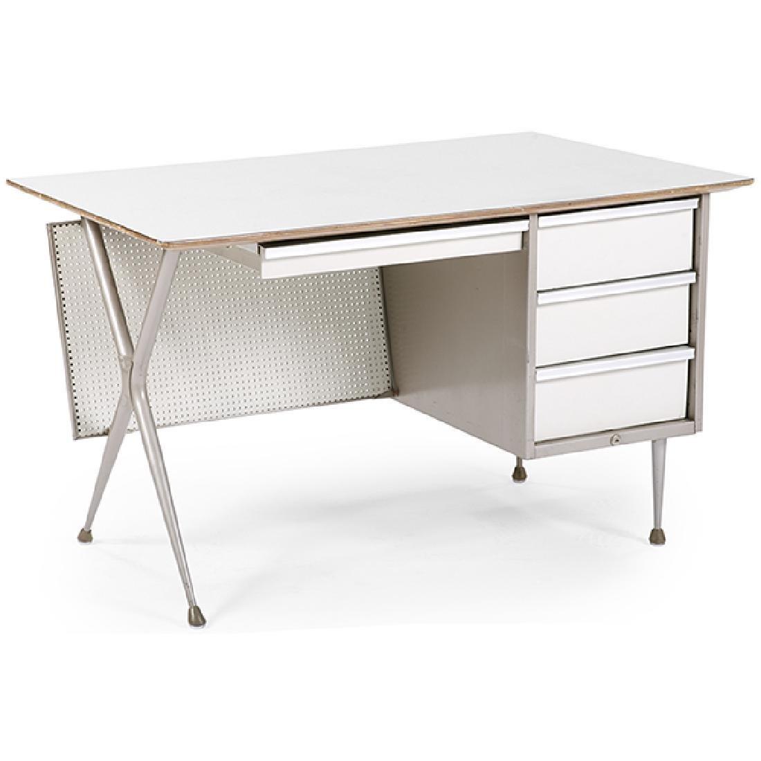 """Raymond Loewy (1883-1986) for Brunswick desk 48""""w x"""