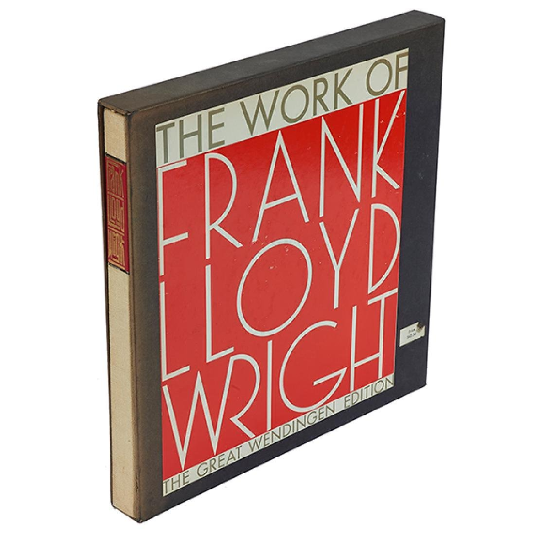 Frank Lloyd Wright, The Life Work of Frank Lloyd