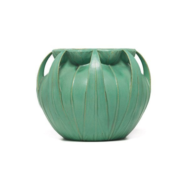 2: Teco vase, designed by Hugh Garden, organic shape