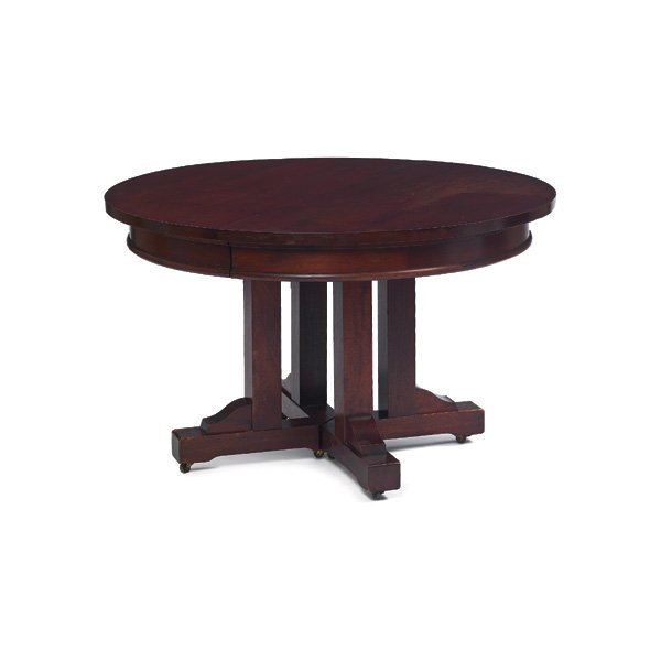 4: Roycroft dining table, #0112
