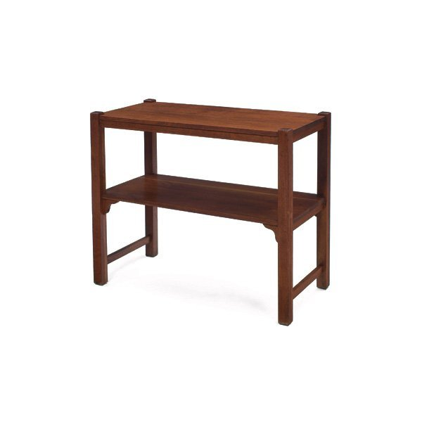 11: Lifetime console table, rectangular to