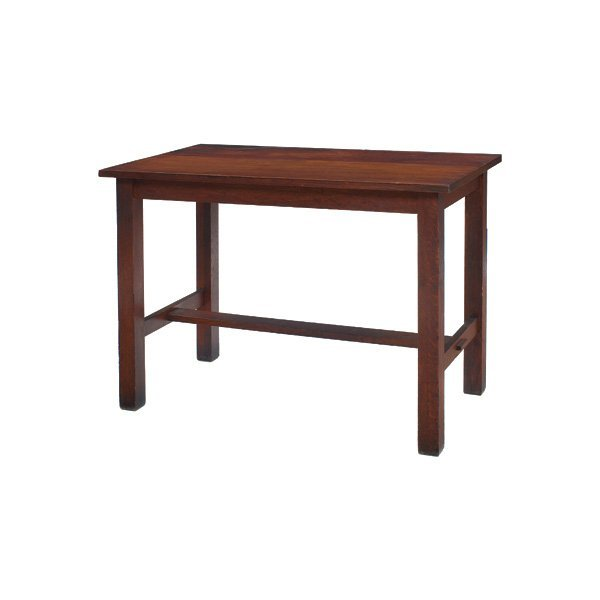 13: Harden library table, rectangular top
