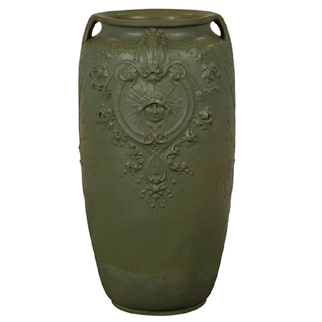 Teco, W.D. Gates (1852-1935), designer monumental vase