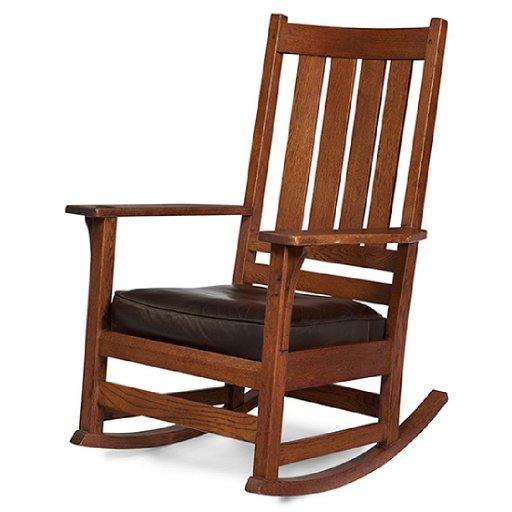 Fabulous L Jg Stickley Rocking Chair 837 28 W X 29 D X Creativecarmelina Interior Chair Design Creativecarmelinacom