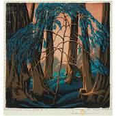 Gustave Baumann, (American/German, 1881-1971), Redwood,