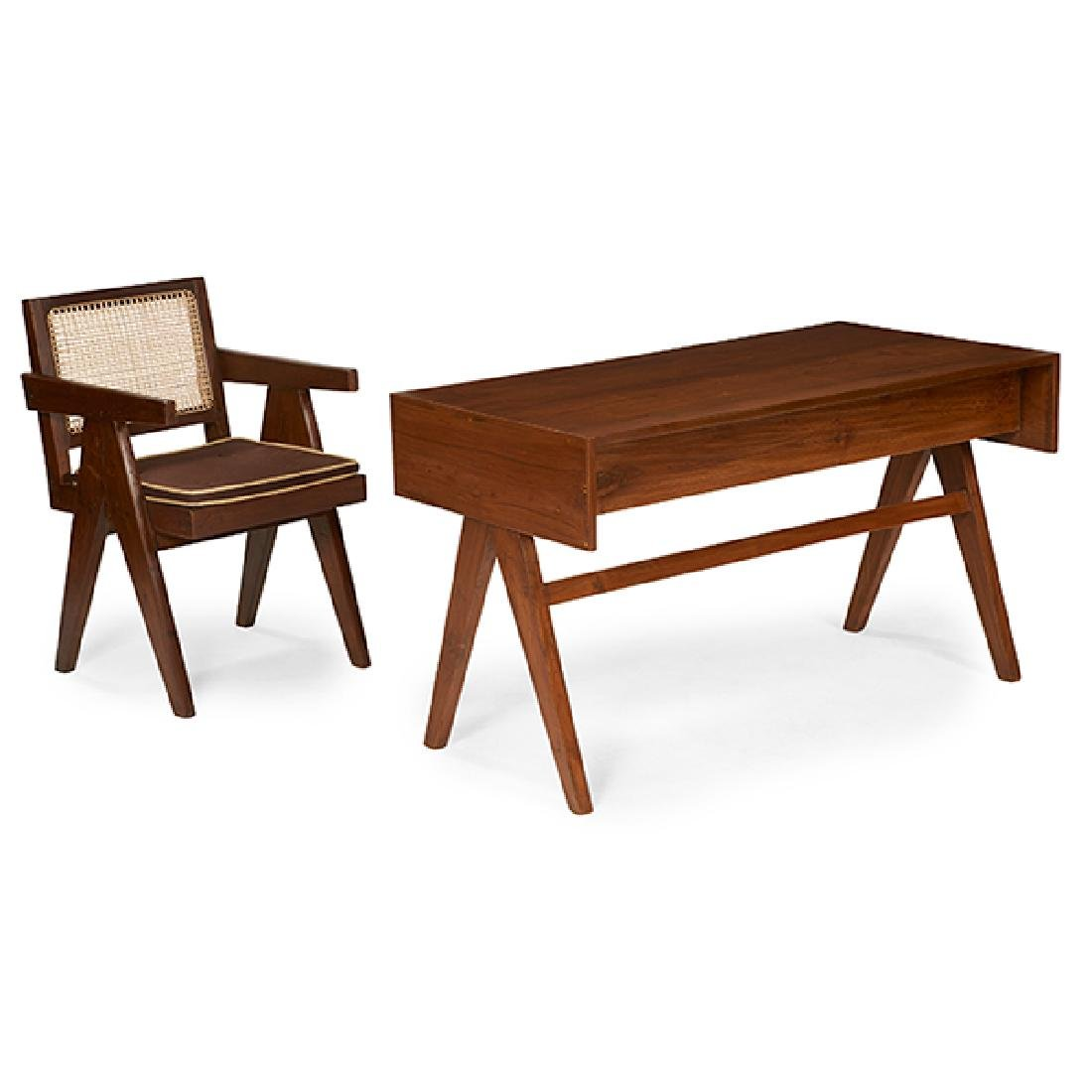 Pierre Jeanneret (1896-1967) Student desk, model