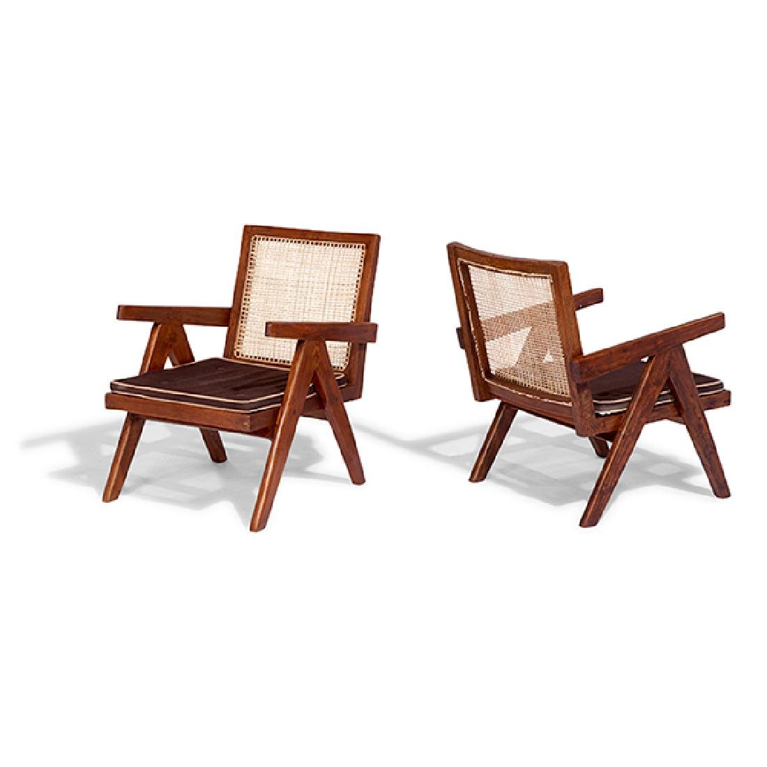 Pierre Jeanneret (1896-1967) Easy Armchair, model