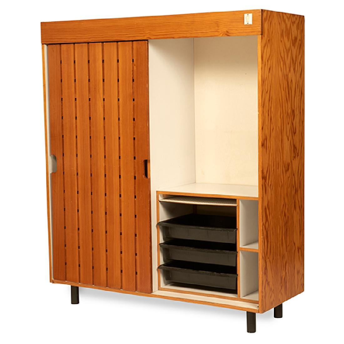 Charlotte Perriand (1903-1999) wardrobe cabinet from