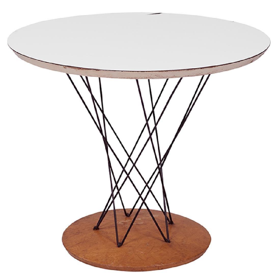 "Isamu Noguchi Cyclone table 24""dia x 20""h"