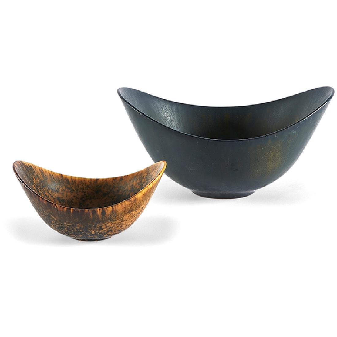 Gunnar Nylund (1904-1997) for Rorstrand bowls, two