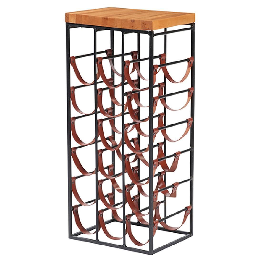 Arthur Umanoff for Shaver-Howard wine rack