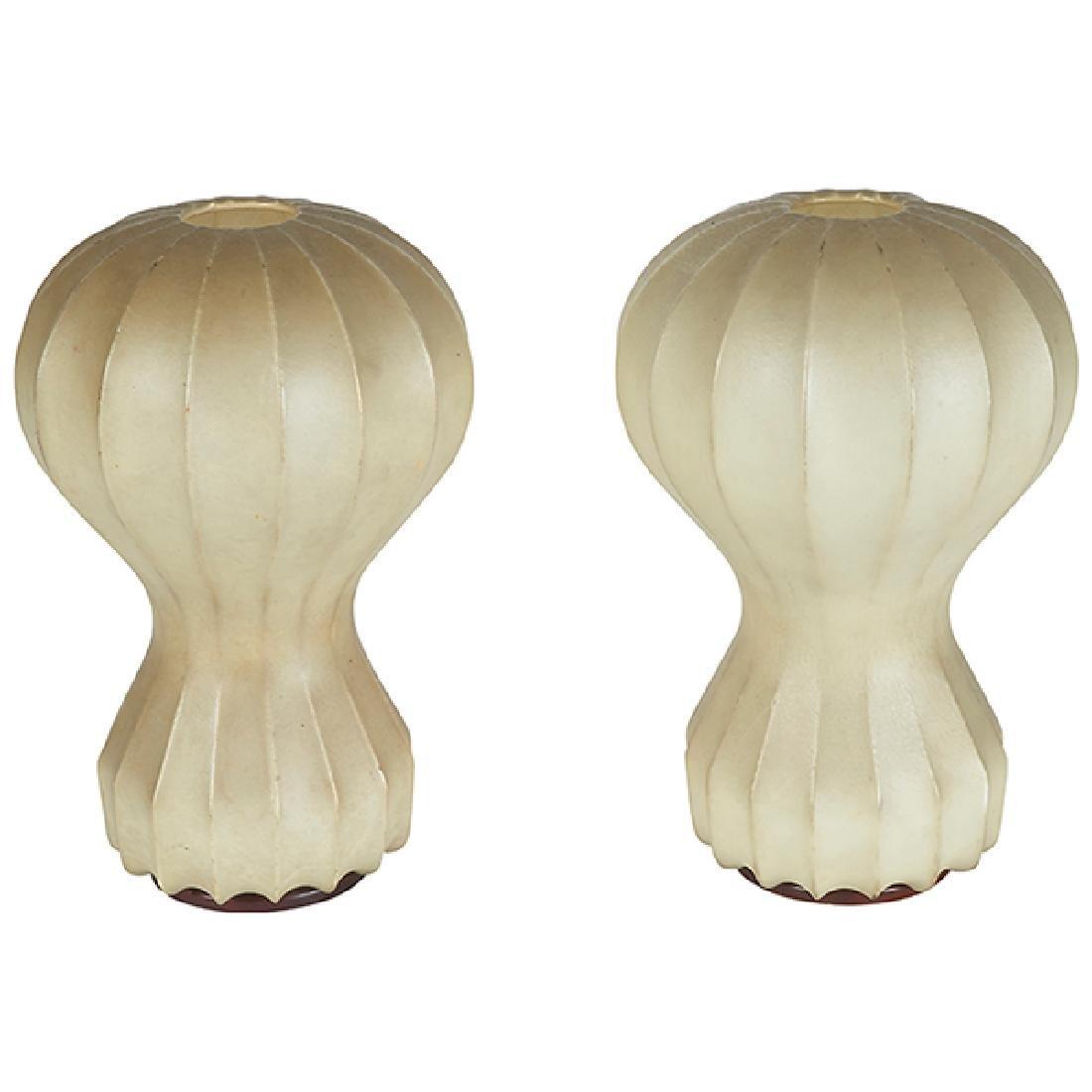 Achille Castiglioni for Flos Gatto Piccolo lamps pair