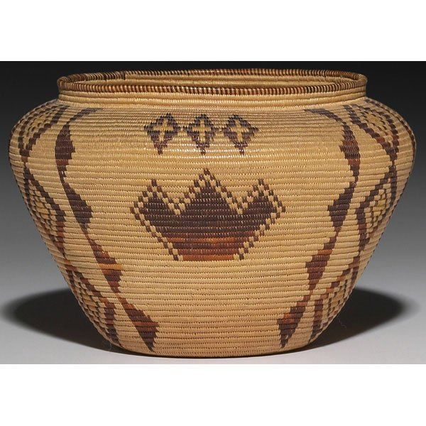 408: Panamint basketry olla