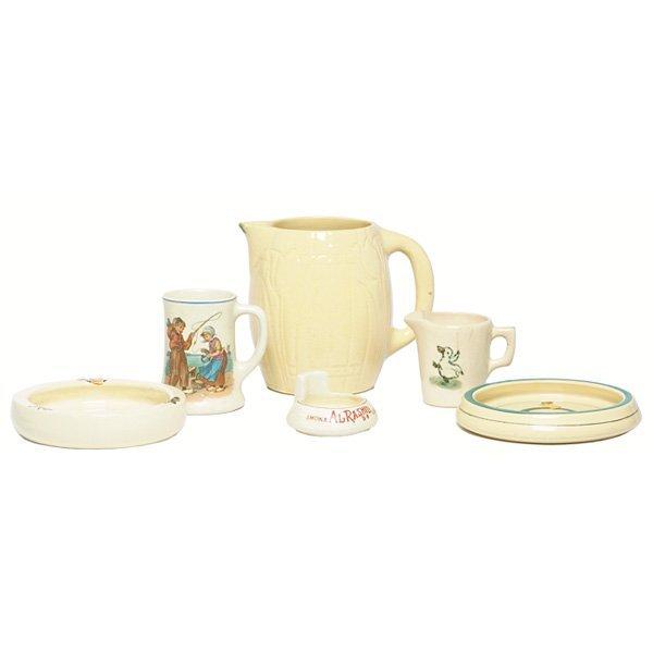 1213: Weller and Roseville items
