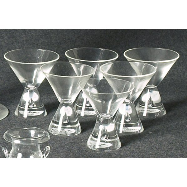1219: Steuben glasses, set of six