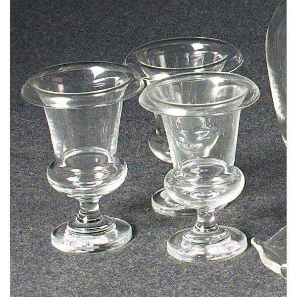 1221: Steuben vases, set of three