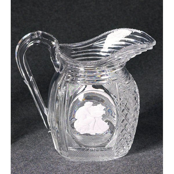 1257: English pitcher, clear
