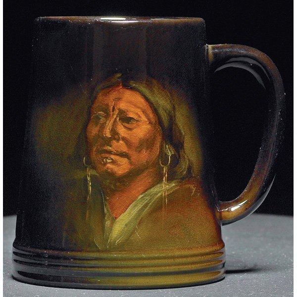 1847: Rookwood handled vessel, Standard glaze  Marie Ra