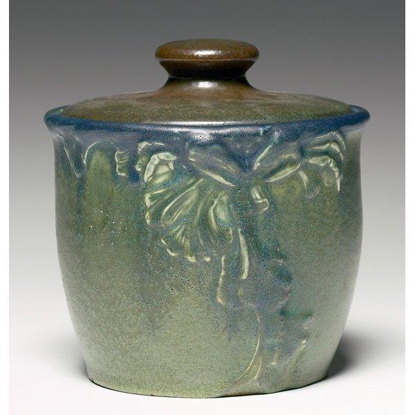 1855: Rookwood covered vessel
