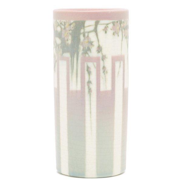 1857: Rookwood vase, Vellum glaze E.T. Hurley