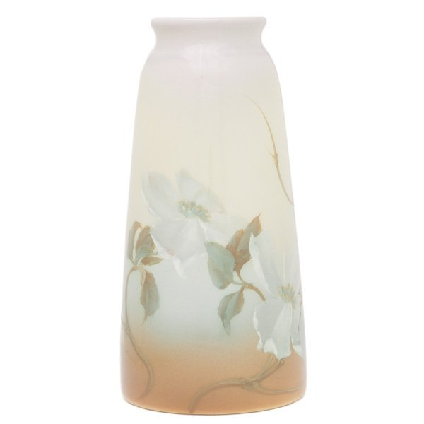 1859: Rookwood vase, Iris glaze, Fred Rothenbusch in 19