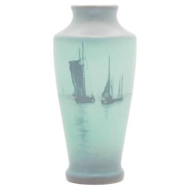 1864: Rookwood vase, Vellum glaze Sallie Coyne