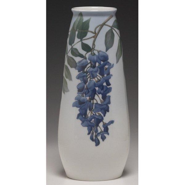 1201: Royal Copenhagen vase,
