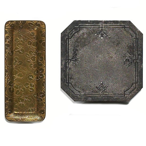 1205: Marshall Field & Co. pin tray,w/ Silvercrest triv