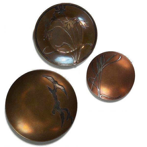 1222: Heintz trays, lot of two