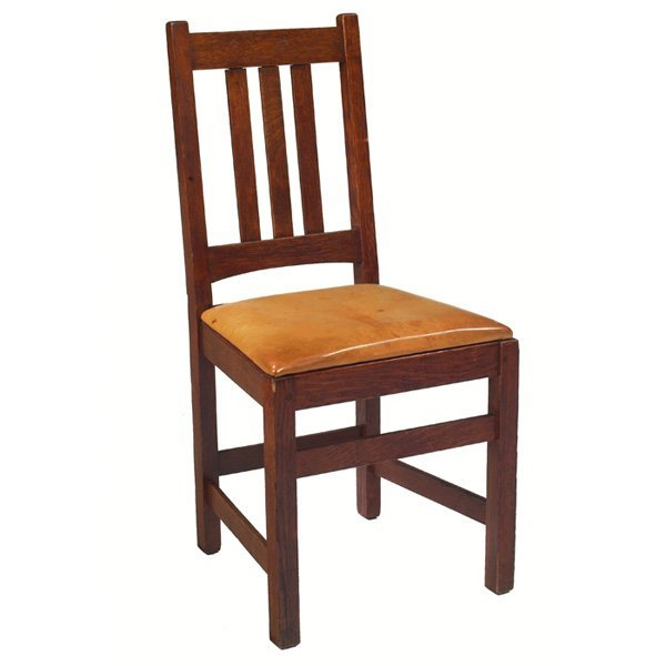 4: Arts & Crafts side chair