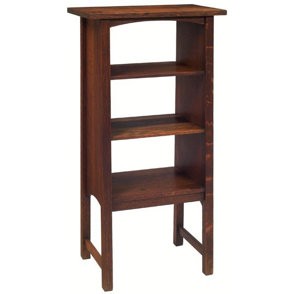 13: Gustav Stickley magazine stand, #72