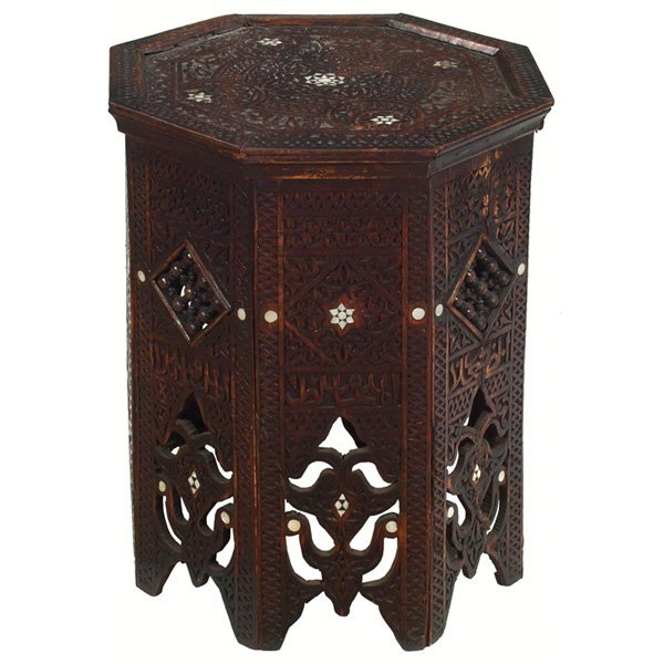 19: Arts & Crafts period tabouret
