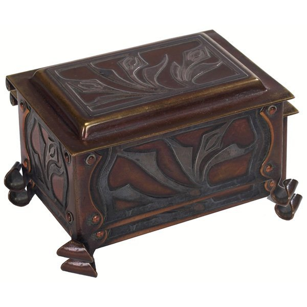 13: The Art Crafts Shop stamp box