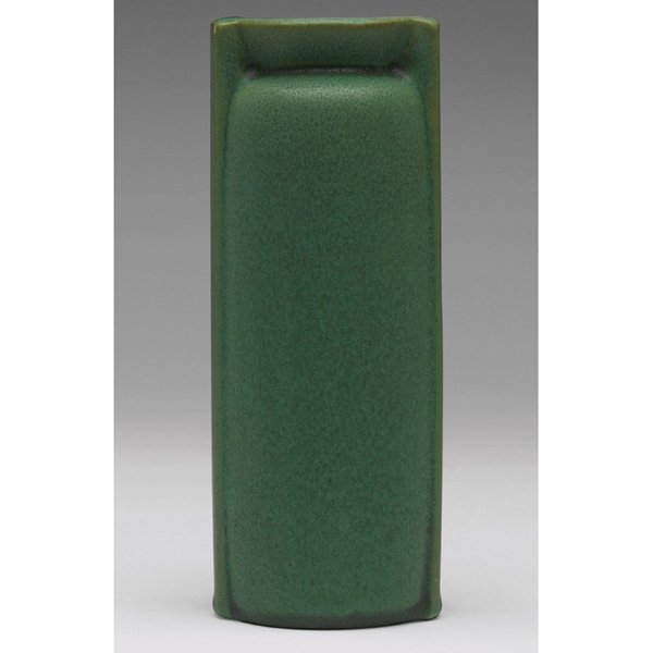 21: Teco vase, designed by W.D. Gates, double buttress