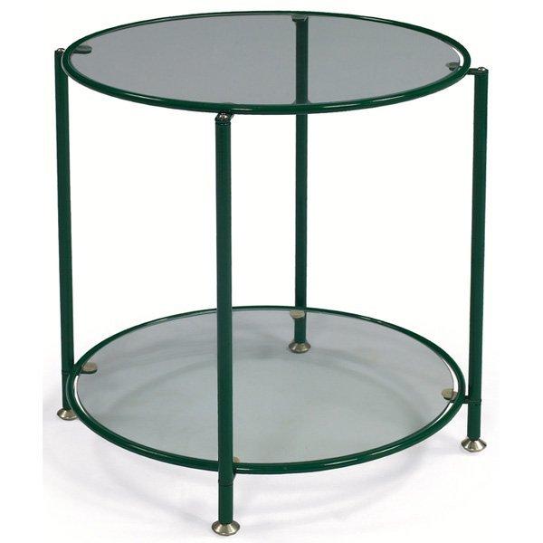 964: Hugh Acton occasional table, dark green