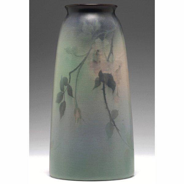 1205: Rookwood vase,  Vellum glaze, Fred Rothenbusch