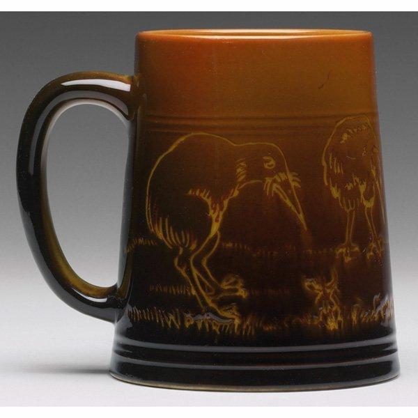 1215: Rookwood handled vessel,  Standard glaze, Edward