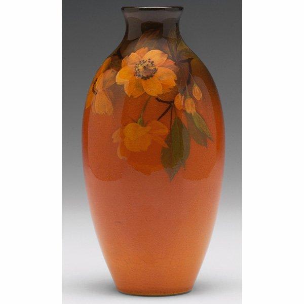 1217: Rookwood vase, bulbous shape in a Standard glaze,