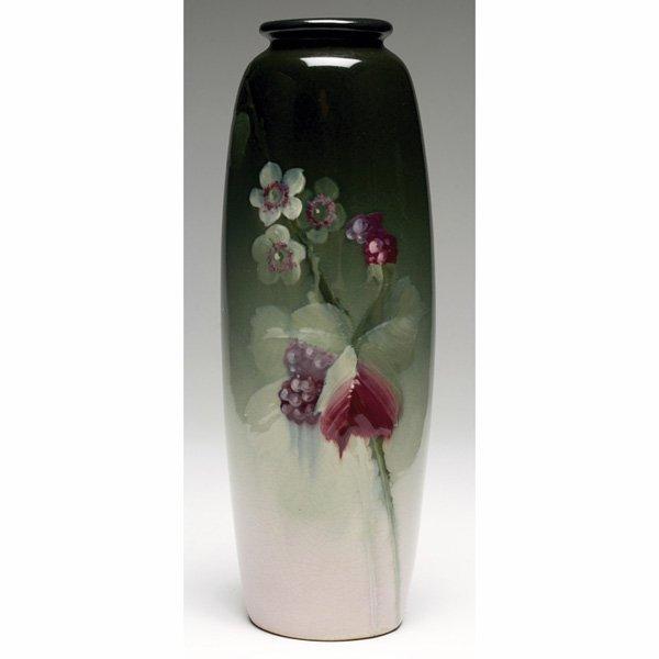 1535: Weller Eocean vase,  berries and blossoms