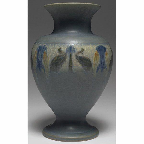 1544: Roseville Victorian Art Pottery vase