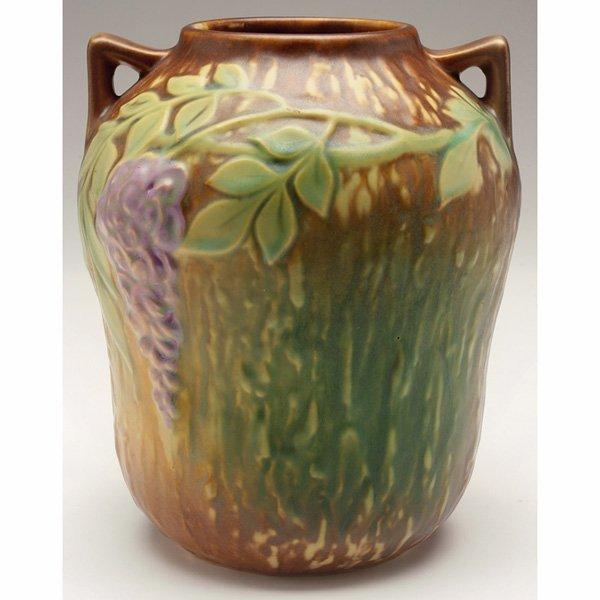 1545: Roseville Wisteria vase