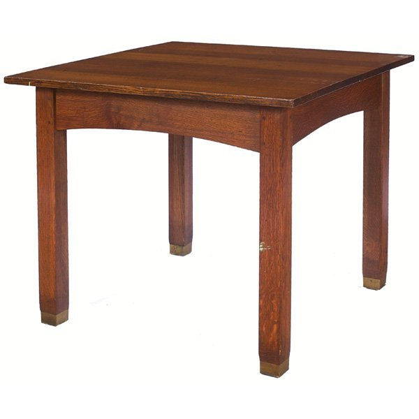 5: J. M. Young lunch table, square top