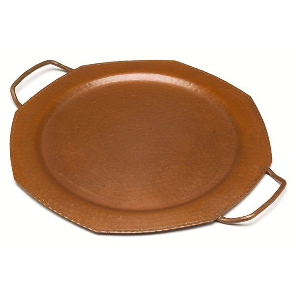 16: Roycroft tray, hammered copper
