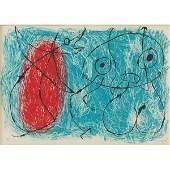 833 Joan Miro  Le Lzard aux Plumes dOr color lith