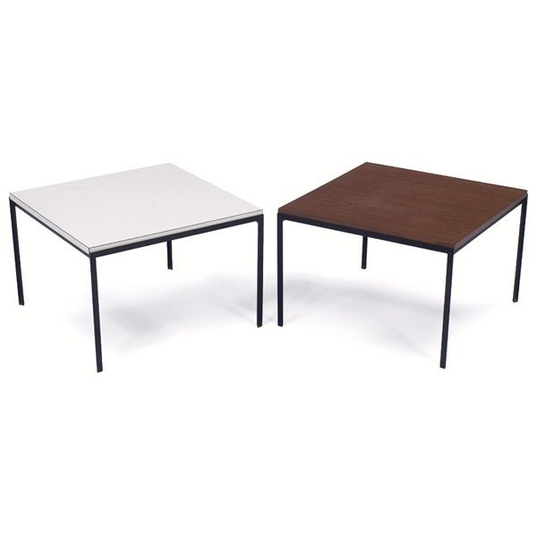 935: Florence Knoll occasional tables, pair