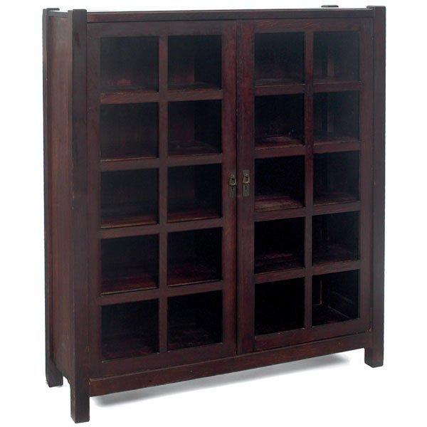 22: Lifetime bookcase, #7294, two-door form