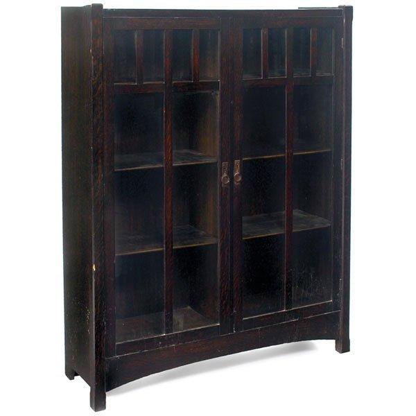 23: Lifetime bookcase, #7292, two-door form